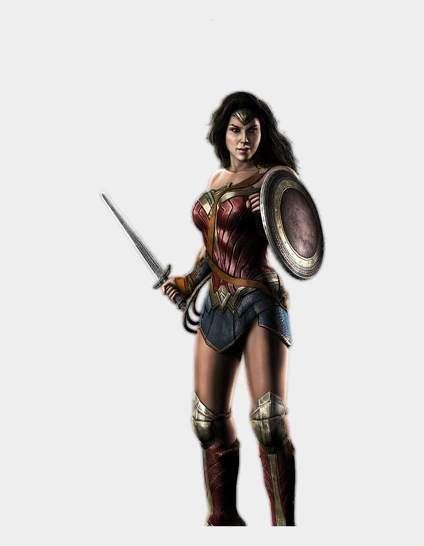 clipart wonder woman, Cartoons - Woman Warrior Clipart Wonderwoman - Wonder Woman Injustice Gods Among Us Ios