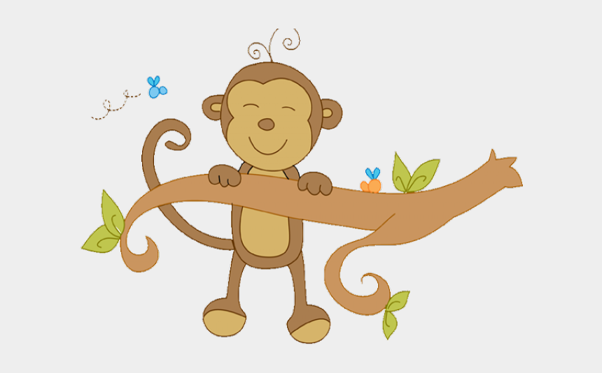Stork Clipart Baby Transparent Background Cute Monkey Clip
