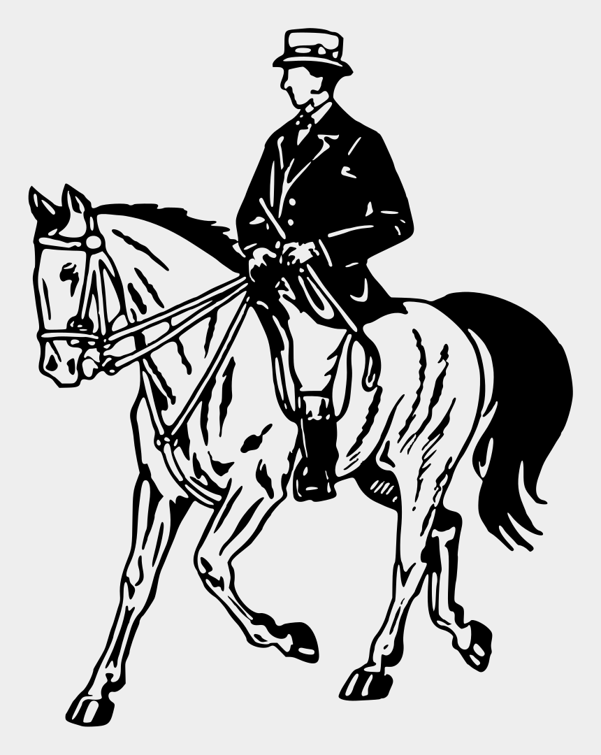 horseback riding clipart, Cartoons - Horse And Rider - Person Riding A Horse Cartoon