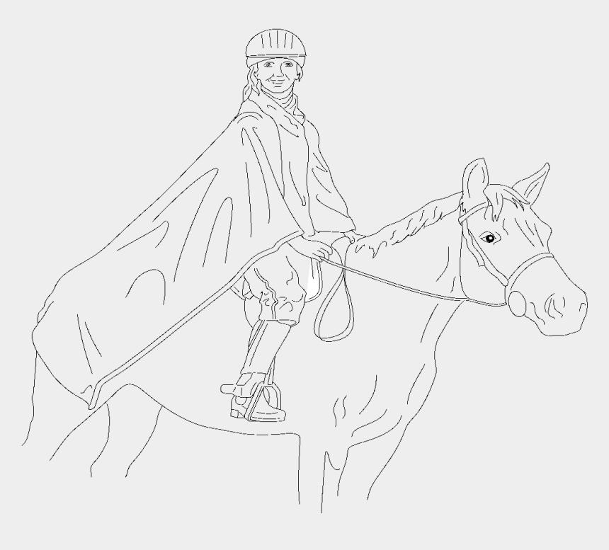 horseback riding clipart, Cartoons - Horse Rider Svg Clip Arts 600 X 580 Px - Man On A Horse Drawing