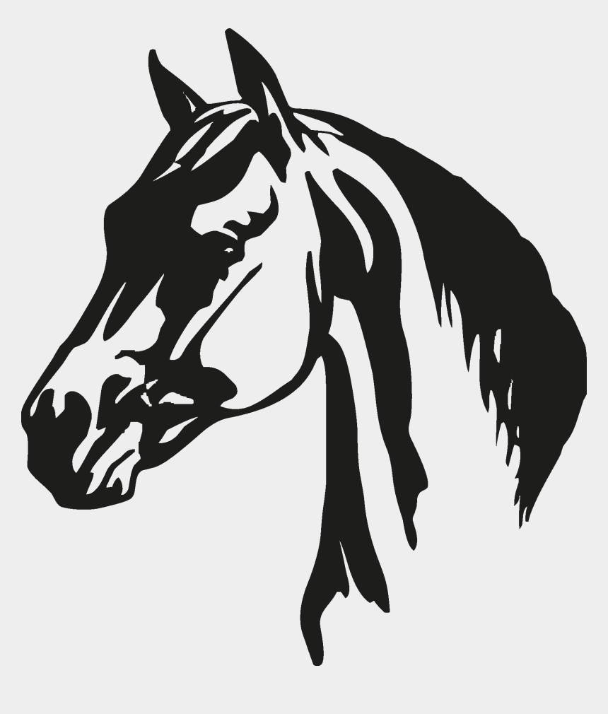 horse head clipart, Cartoons - Horse Head Silhouette - Horse Head Silhouette Pngs