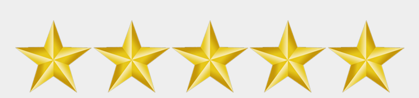 gold star clipart free, Cartoons - 5 Gold Star Png - 5 Gold Stars Transparent