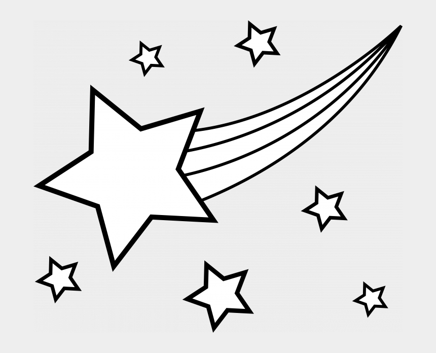 star shape clipart, Cartoons - Printable Coloring Page Stars Education Shapes Star - Shooting Star Clipart Black And White