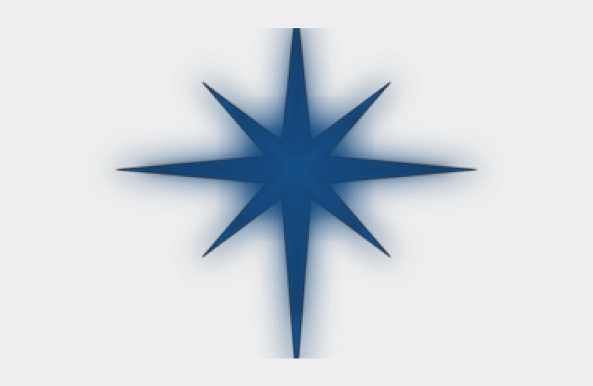 blue star clipart, Cartoons - North Star Clipart - Star