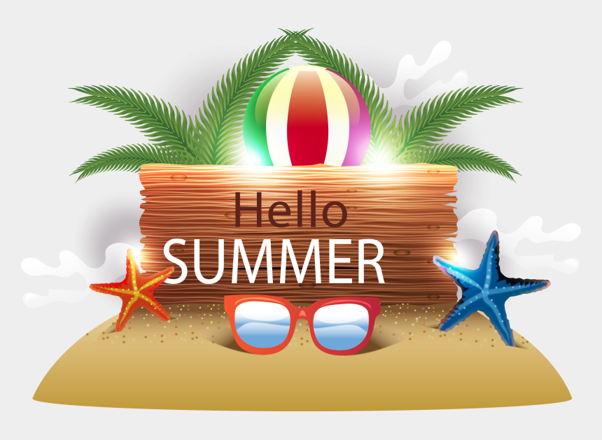 summer vacation clipart, Cartoons - Vacation Clipart Beach Party - Transparent Beach Party Png