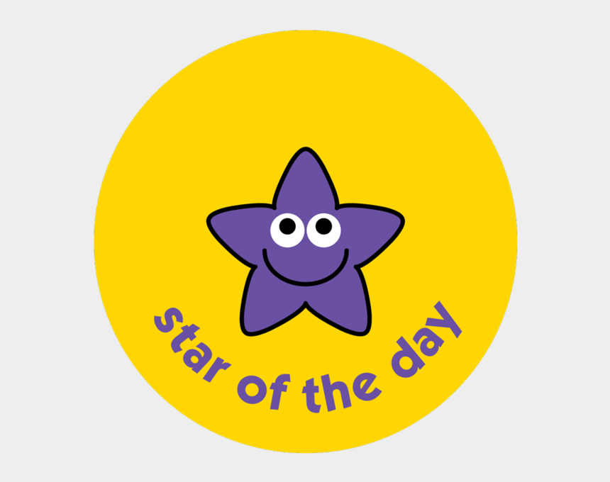 star student clipart, Cartoons - Star Of The Day - Star Of The Day Stickers
