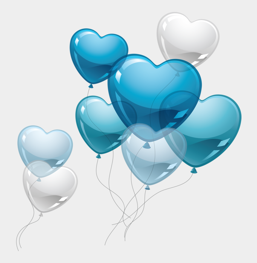 couple in love clipart, Cartoons - Love Clipart Blue - Birthday Balloons Png Blue