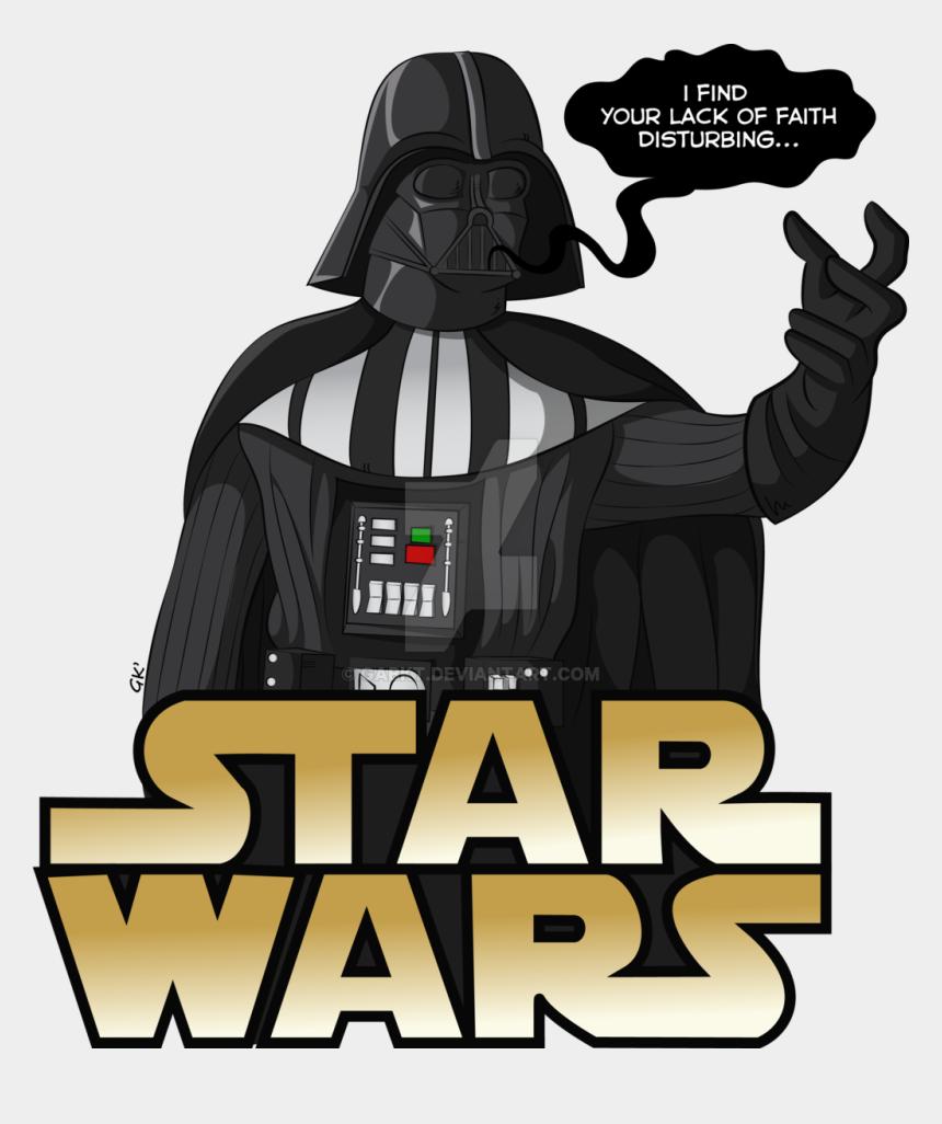 movie star clipart, Cartoons - Drawn Darth Vader Movie Star - Star Wars Darth Vader Vector