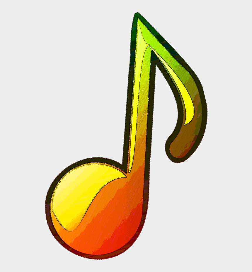 clipart note de musique, Cartoons - #note #musique #music #reggae #dub #vertjaunerouge - Imagens De Reggae Png
