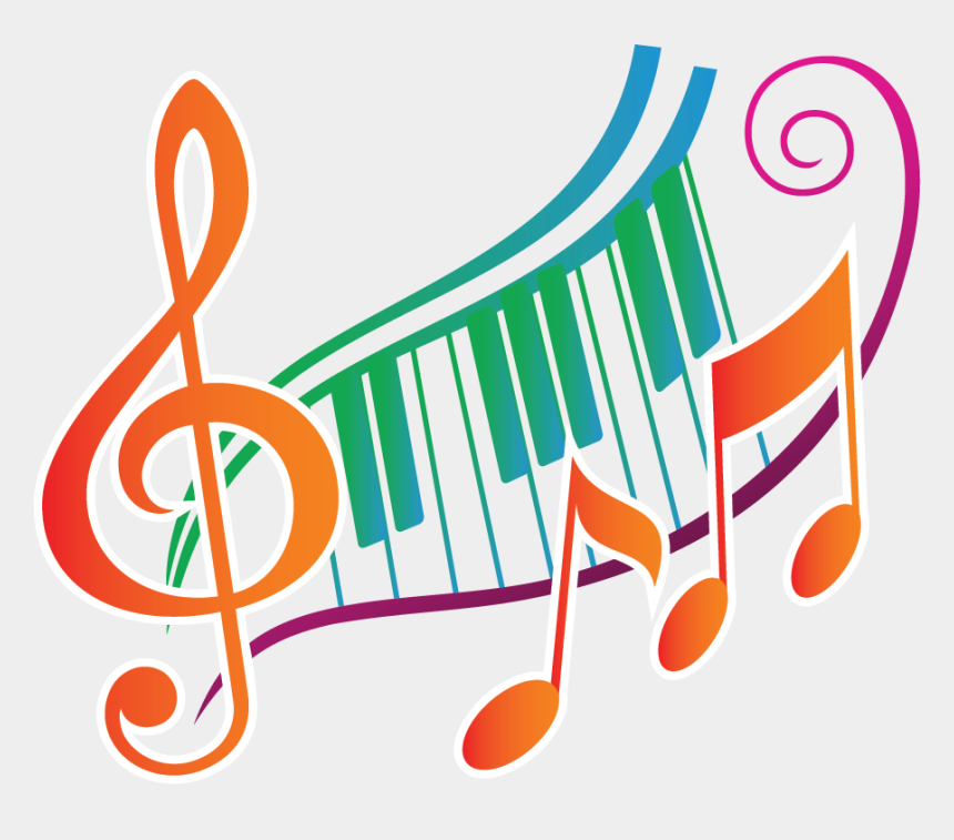 clipart note de musique, Cartoons - Image - Music Notes With Piano