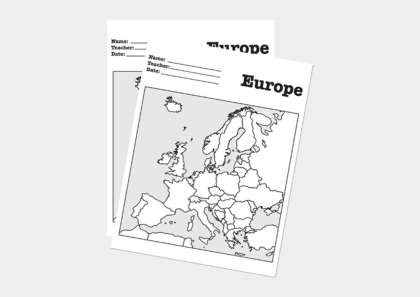 picture regarding Map of Europe Black and White Printable With Names identify A Blank Map Of Europe For Learners Towards Label - Blank Map Of