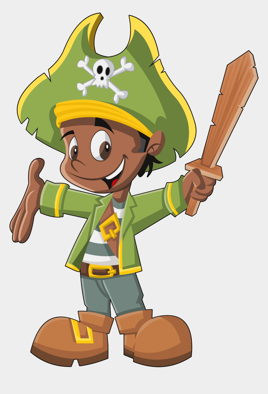 treasure map clipart, Cartoons - Eac F Be - Green Pirate Clipart