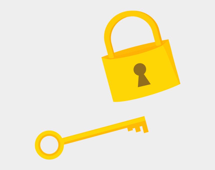 lock and key clipart, Cartoons - Key - Clipart Lock And Key Png