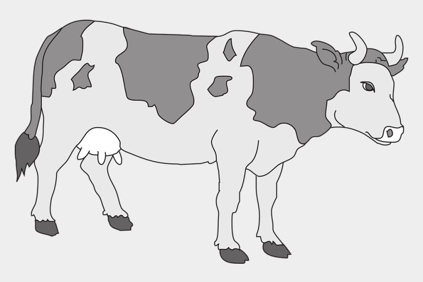 cute cow clipart, Cartoons - Cow Livestock Cattle Farm Animal Beef Dairy - Cow Clipart