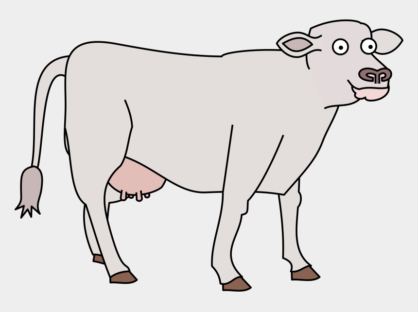 cattle clipart, Cartoons - Legs Clipart Cow - Grey Cow Cartoon