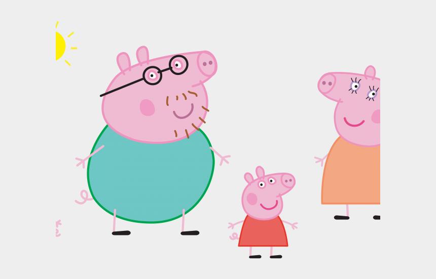 pig head clipart, Cartoons - Head Clipart Peppa Pig - Peppa Pig Family Png