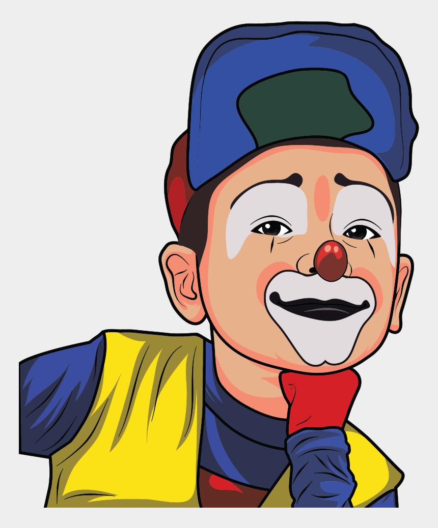 Clown Cartoon Entertainment Circus Ics Gambar Kartun