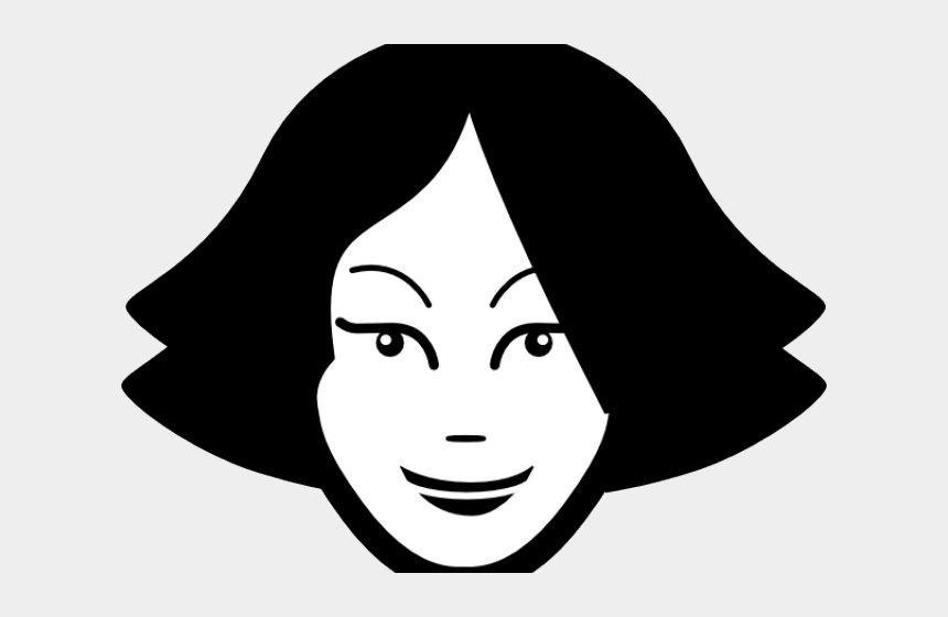 woman face clipart, Cartoons - Icon Visage Png