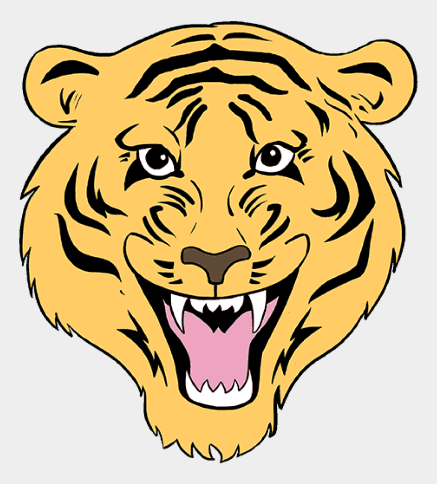 tiger face clipart, Cartoons - How To Draw A Tiger Face In Few Easy Steps Drawing - Draw A Tiger