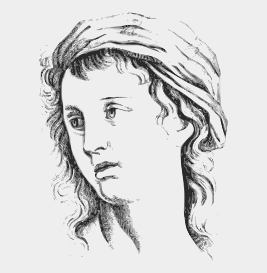 woman face clipart, Cartoons - Facial Expression