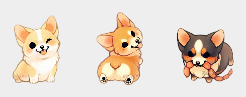 cute puppy clipart, Cartoons - Tumblr Puppy Puppys Dog Dogs Cute Corgi Corgis Kawaii - Cute Kawaii Dog Drawings