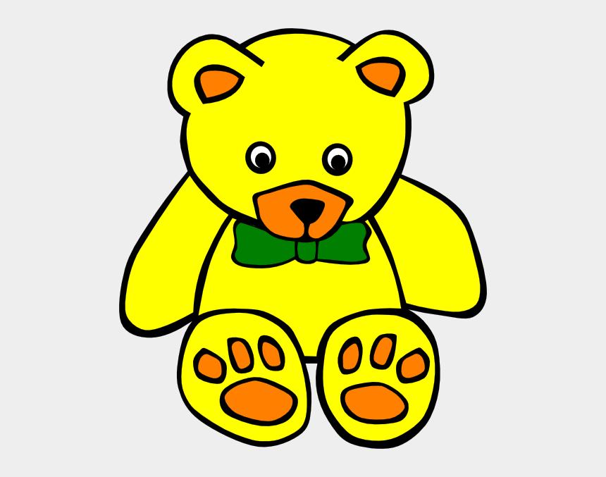 teddy bear clipart, Cartoons - Teddy 3 Clip Art At Clker - Stuffed Toy Clipart Black And White