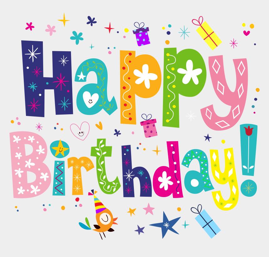Birthday Clip Royalty Free Transparent Background Happy Birthday Clipart Cliparts Cartoons Jing Fm