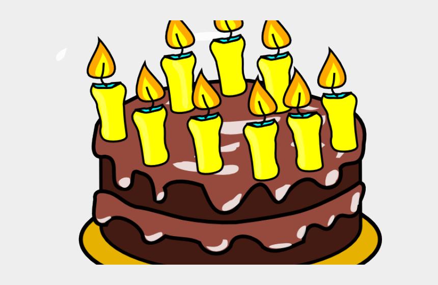 free birthday clip art, Cartoons - Free Birthday Cake Clipart - Chocolate Cake Clipart