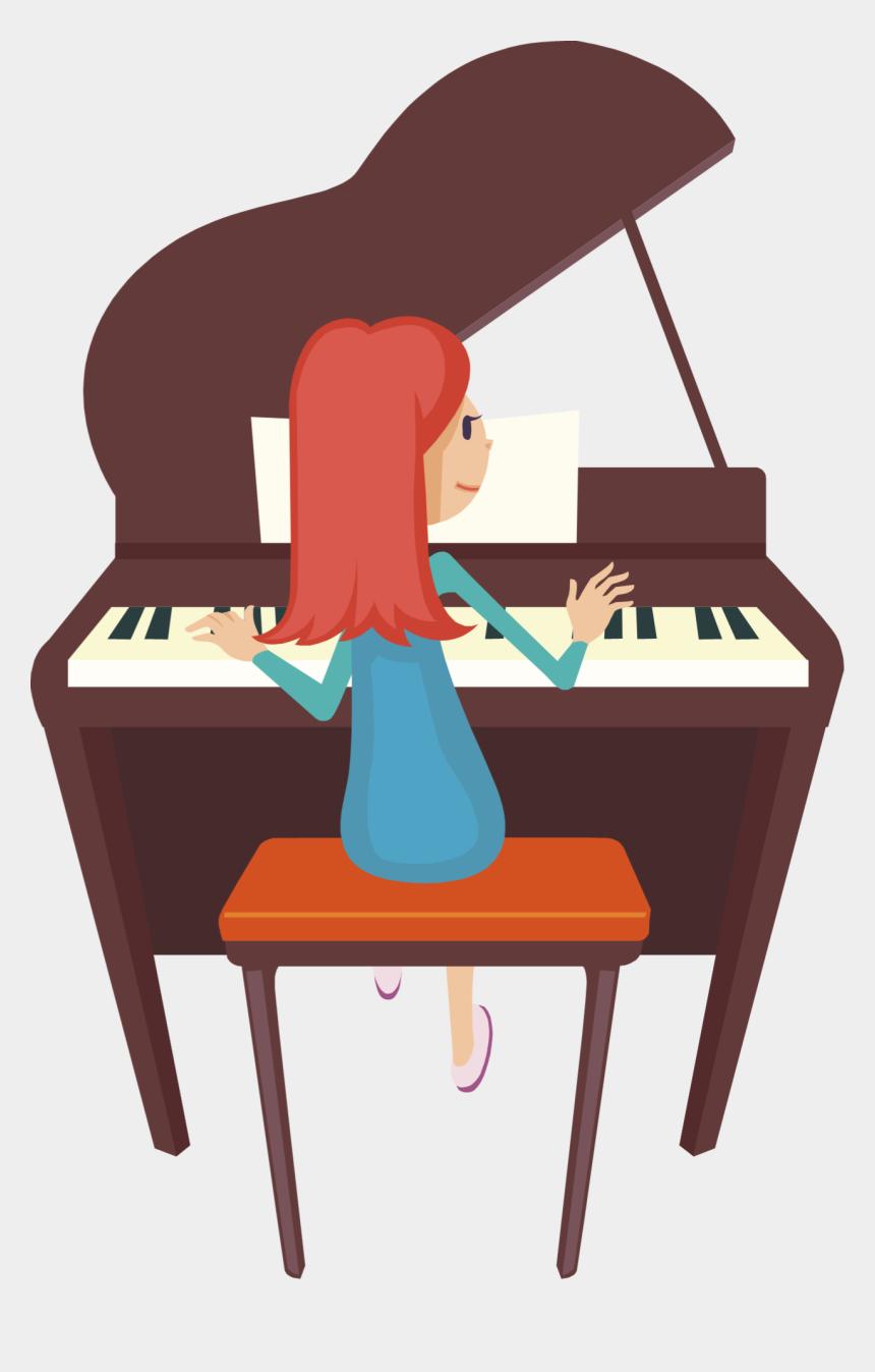 piano clip art, Cartoons - Download - Playing Piano Clipart