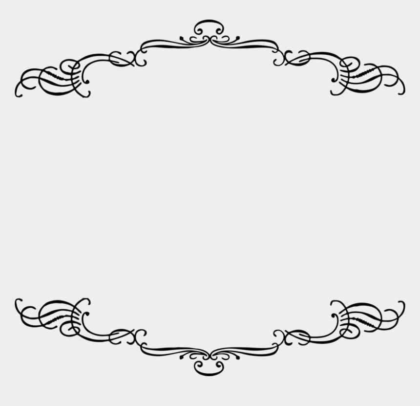 clip art frames, Cartoons - Picture Frames Vintage Clothing Antique Ornament - Line Art Frame Png