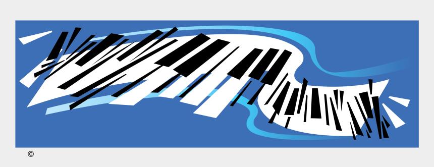piano clip art, Cartoons - Abstract Piano Vector Clip Art - Musical Keyboard