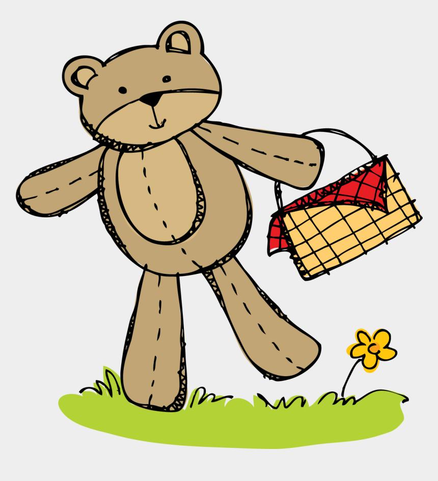 bear clip art, Cartoons - Teddy Bear Day Clipart - Cartoon Teddy Bears Picnic