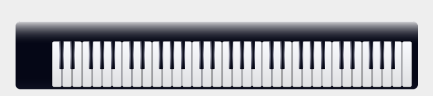 piano clip art, Cartoons - Keyboard Png Free - Keyboard Music Transparent