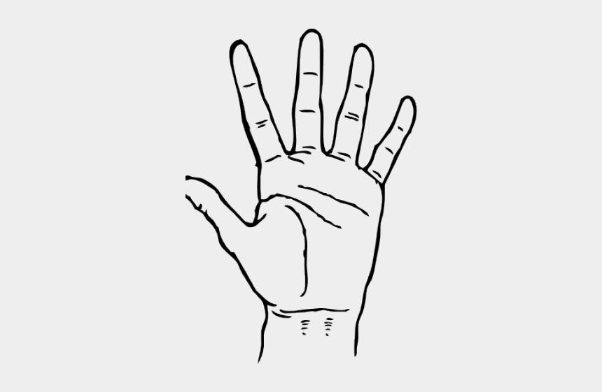 middle finger clipart, Cartoons - Finger Clipart Black And White - Hand Black And White Clipart