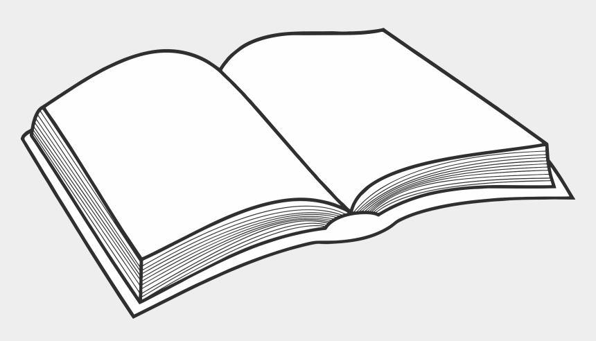 books clip art, Cartoons - Collection Of Free Vector Book Open - Black And White Books Clip Art