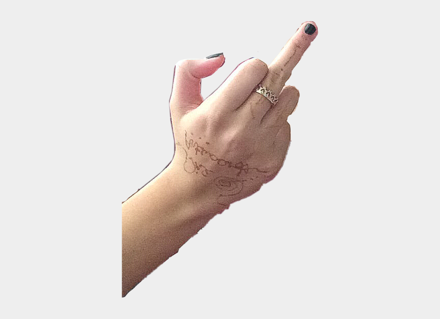 middle finger clipart, Cartoons - #fuck #middle #finger #middlefinger #freetoedit - Middle Finger Hand Transparent