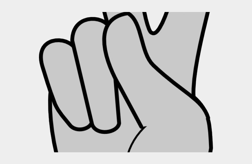 middle finger clipart, Cartoons - Fingers Clipart Middle - Clip Art Peace Sign Hand