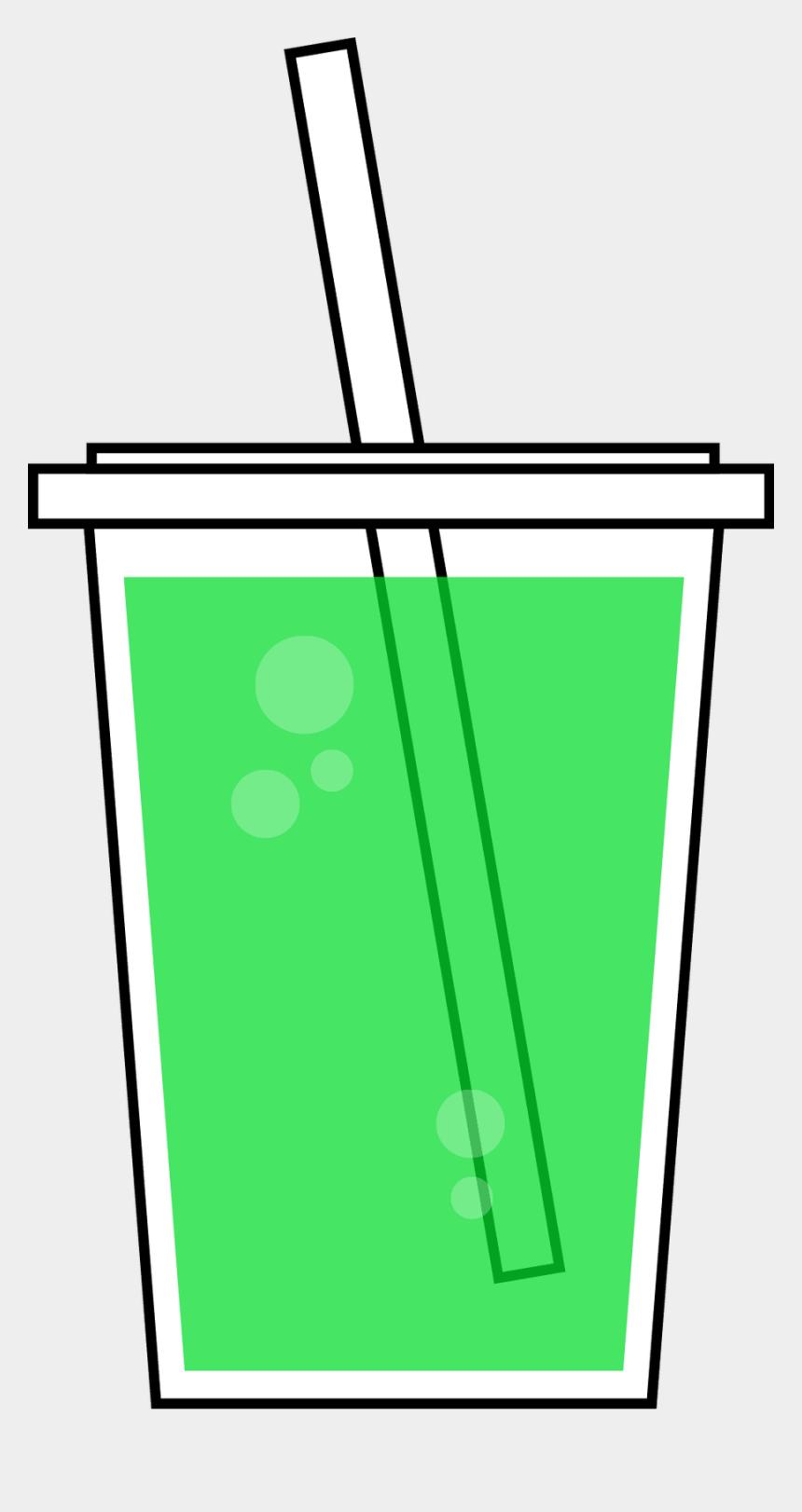 soda clipart, Cartoons - Red Drink Clip Art - Green Juice Clipart