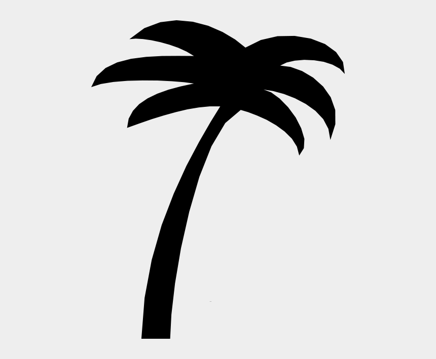 palm trees clip art, Cartoons - Simple Palm Tree - Palm Tree Silhouette Clip Art