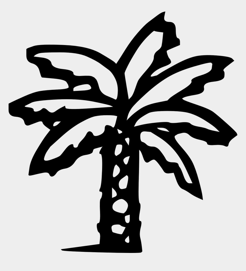 palm trees clip art, Cartoons - Palm Tree Clip - Palm Tree Clip Art Black