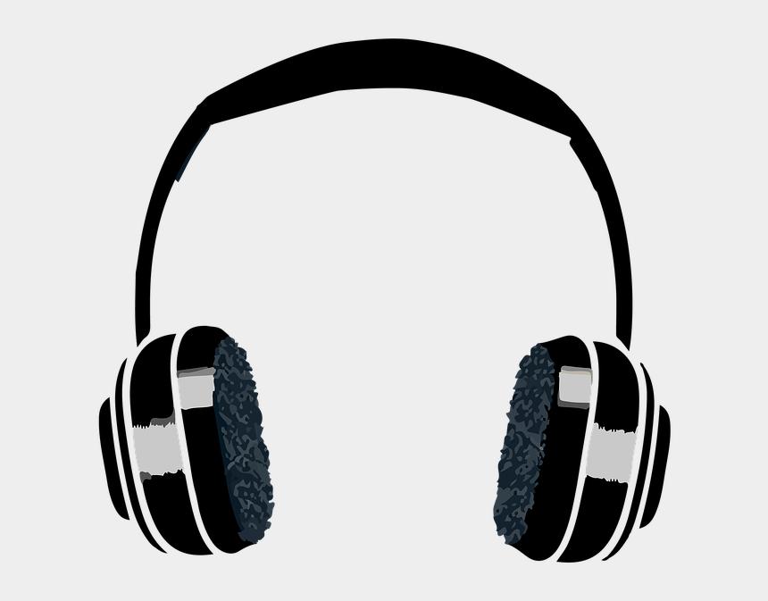 headphones clip art, Cartoons - Headphones Music Headset Musician Sound Sing - Transparent Headphones Clipart