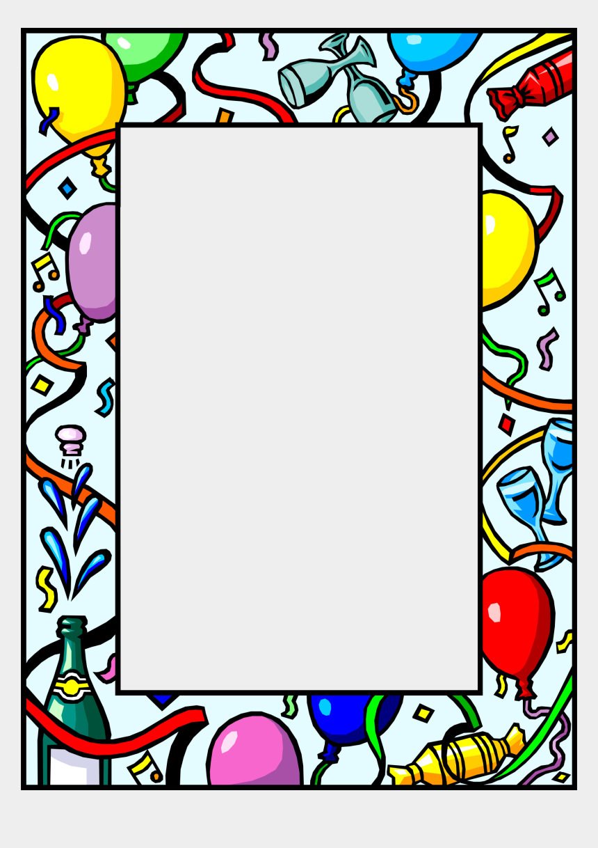 new years clip art, Cartoons - New Year Frame - New Year Frames Cliparts
