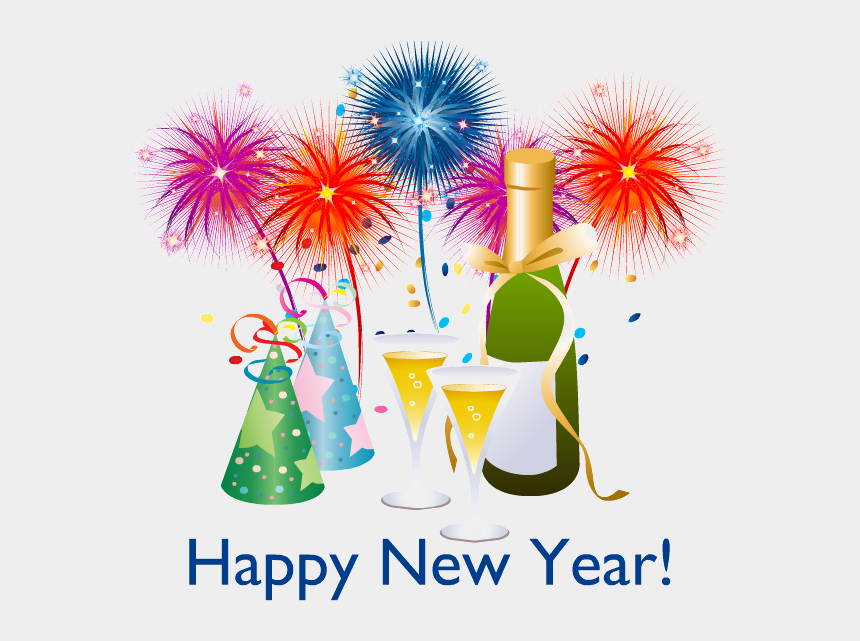 new years clip art, Cartoons - Happy New Year Png - Happy New Year Vector Png