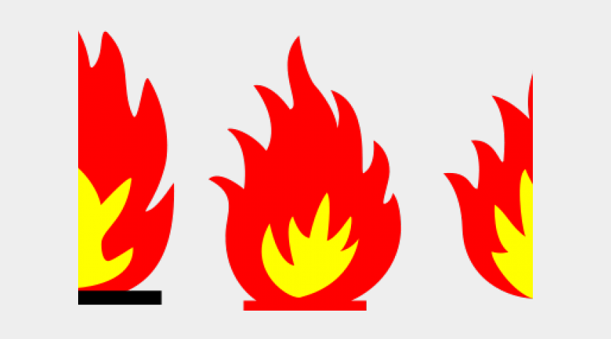 flames clip art, Cartoons - Flames Clipart Fire Trail - Fire Flame Clipart Black And White