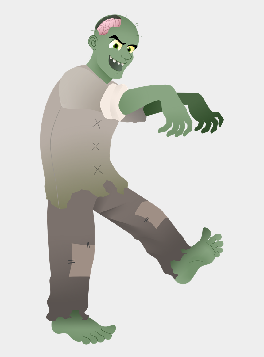 zombie clipart, Cartoons - Download - Zombie Clipart Png