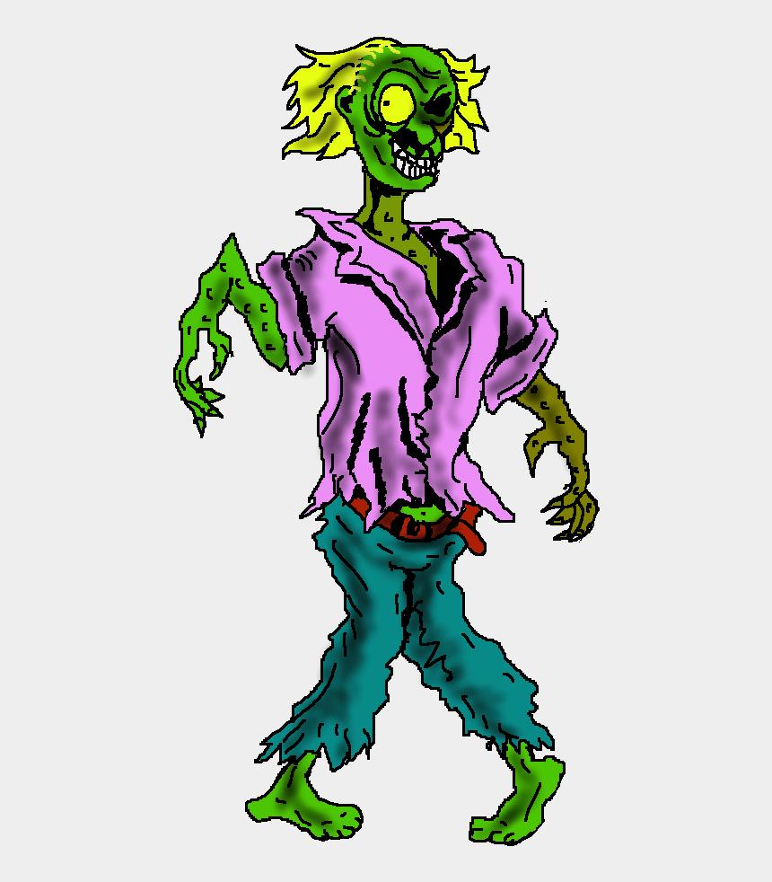 zombie clipart, Cartoons - Free Zombie Clip Art - Zombie Transparent Background Png