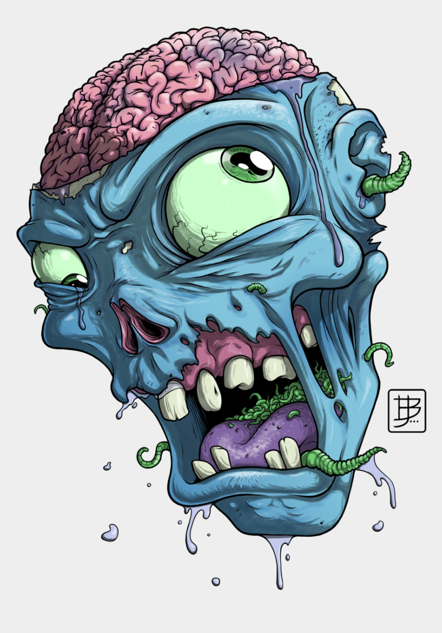 zombie clipart, Cartoons - Zombie Head Google Search Zombi Pinterest Searching - Cartoon Zombie Head Png