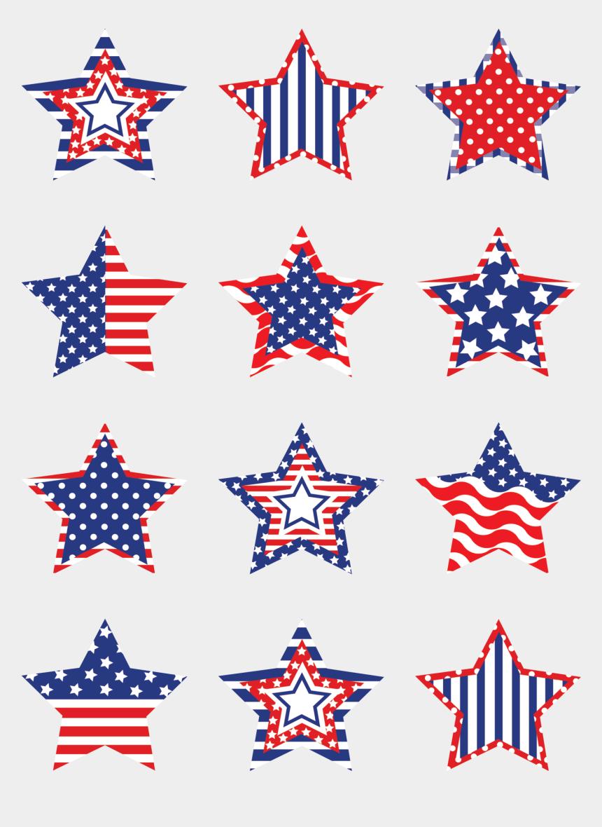 labor day clipart, Cartoons - Patriotic Stars Mini Accents Labor Day Decorations, - Captain America Star Clipart
