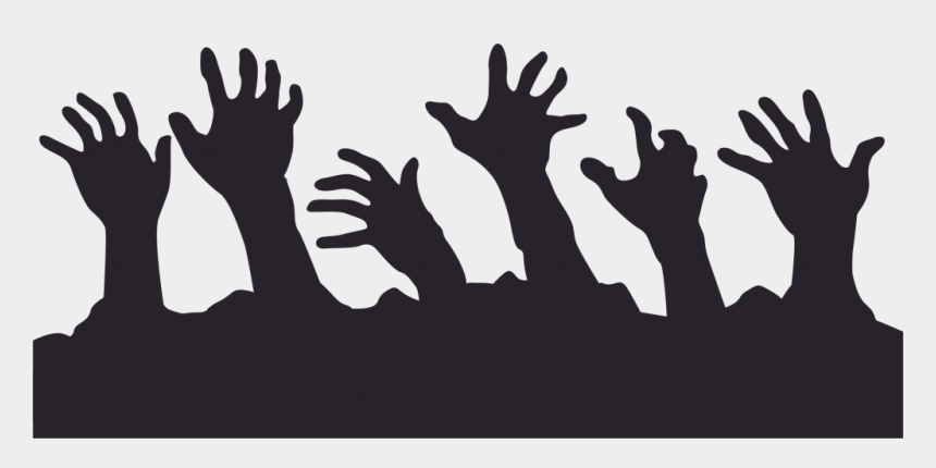 zombie clipart, Cartoons - Fingers Clipart Zombie - Zombie Hand Silhouette Png