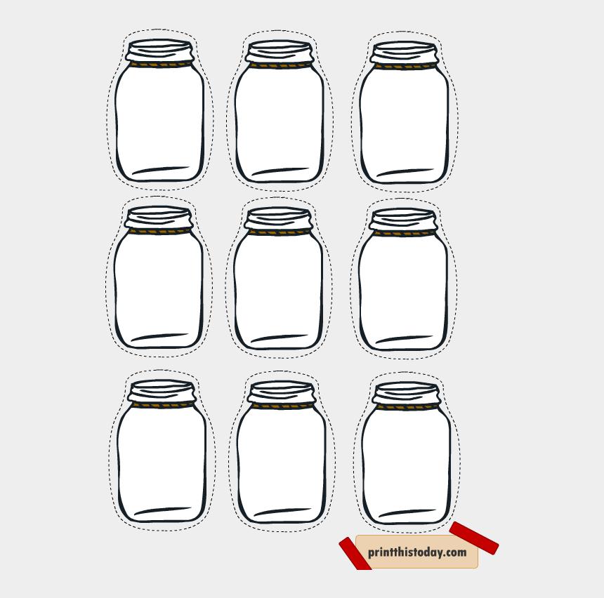 mason jar clip art, Cartoons - Free Printable Mason Jar Tags For Homemade Products - Printable Mason Jar Tag